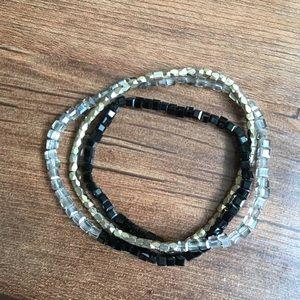Jewelry - 2 for 1 Stretchy beaded bracelet